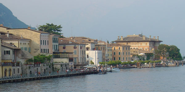 Gargnano at lake Garda