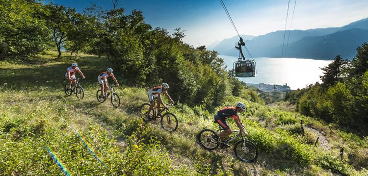 Der Monte Baldo und die Seilbahn