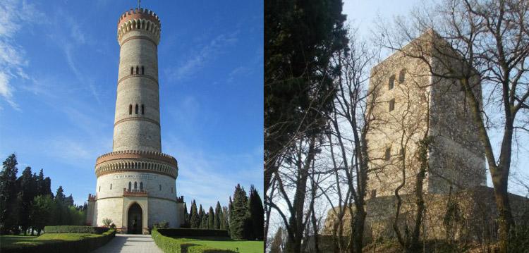 La Torre di San Martino e la Rocca di Solferino