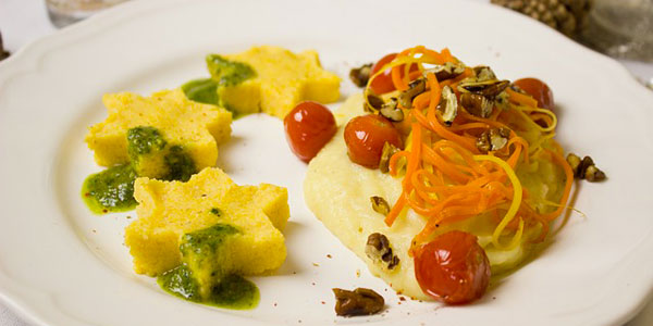 A dish with tradition - the original Italian polenta
