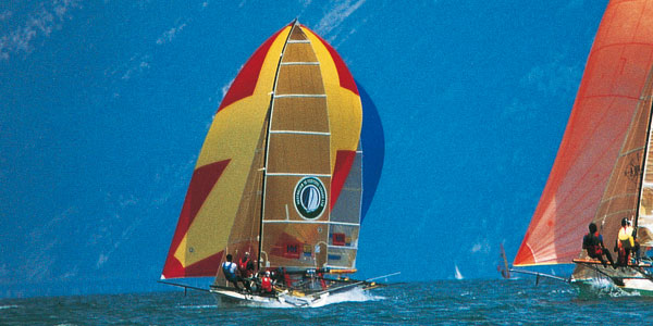 Sailing on Lake Garda