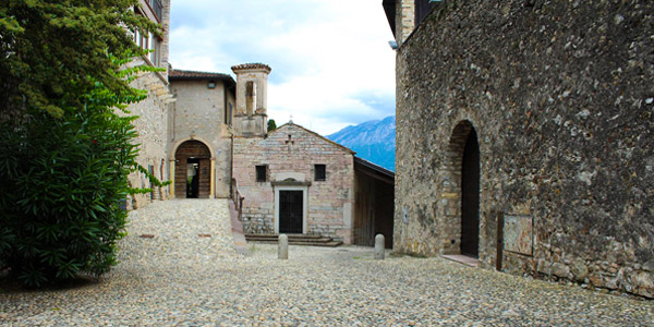 The small village of San Giacomo in Gargnano
